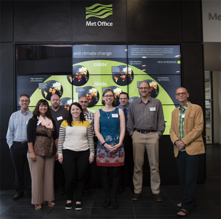PollerGEN Team at the MET Office